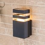 Изображение Настенный уличный светильник Techno 1450 черный