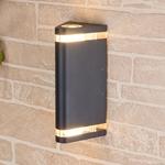 Изображение Настенный уличный светильник Techno 1484 черный