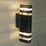 Изображение Настенный уличный светильник Techno 1483 черный