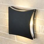 Изображение Настенный уличный светильник Techno 1014 черный