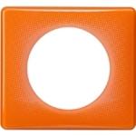 Изображение 66651 Рамка 1 пост Оранжевый муар Celiane