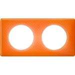 Изображение 66652 Рамка 2 поста Оранжевый муар Celiane