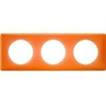 Изображение 66653 Рамка 3 поста Оранжевый муар Celiane