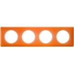 Изображение 66654 Рамка 4 поста Оранжевый муар Celiane