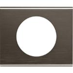 Изображение 69031 Рамка 1 пост Черный никель Celiane