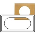 Изображение 69135 Рамка 4/5м прямоугольная Золото Celiane