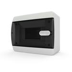 Изображение CNK 40-06-1 Щит навесной 6 мод. IP40 прозрачная черная дверца Tekfor