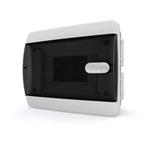 Изображение CVK 40-06-1 Щит встраиваемый 6 мод. IP40 прозрачная черная дверца Tekfor