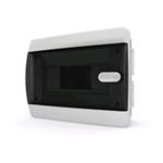 Изображение CVK 40-08-1 Щит встраиваемый 8 мод. IP40 прозрачная черная дверца Tekfor