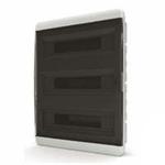 Изображение BVK 40-54-1 Щит встраиваемый 54 мод. IP40 прозрачная черная дверца Tekfor