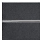 Изображение ABB NIE Zenit Антрацит Выключатель 1-клавишный 2-полюсной 2 мод