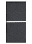 Изображение ABB NIE Zenit Антрацит Выключатель 1-клавишный 2-х полюсный 1 мод
