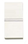Изображение ABB NIE Zenit Бел Выключатель 1-клавишный 2-х полюсный 1 мод