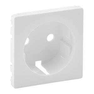 Изображение Valena LIFE.Лицевая панель для силовой розетки 2К+З с зажимами 6кв.мм.Белая