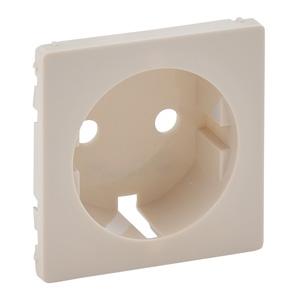 Изображение Valena LIFE.Лицевая панель для силовой розетки 2К+З с зажимами 6кв.мм.Слоновая кость