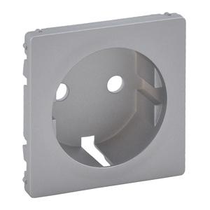 Изображение Valena LIFE.Лицевая панель для силовой розетки 2К+З с зажимами 6кв.мм.Алюминий