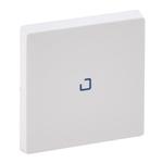 Изображение Valena LIFE.Лицевая панель для выключателя одноклавишного с подсветкой/индикацией .Белая