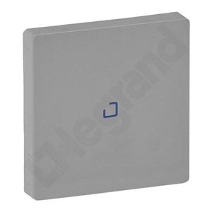 Изображение Valena LIFE.Лицевая панель для выключателя одноклавишного с подсветкой/индикацией.Алюминий