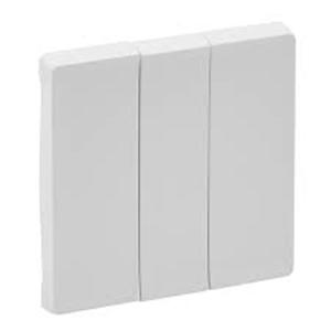 Изображение Valena LIFE.Лицевая панель для выключателя трехклавишного.Белая