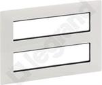 Изображение Valena LIFE.Рамка для модульных устройств Mosaic 2x4x2 модуля.Белая
