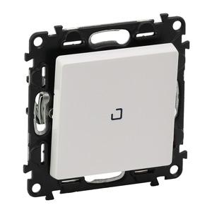 Изображение Valena LIFE.Переключатель промежуточный 10АХ 250В с подсветкой, с лицевой панелью.Винтовые зажимы.Белый
