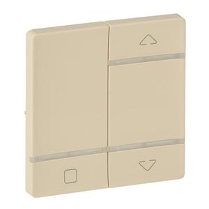 Изображение Valena LIFE MyHome Play Zigbee. Лицевая панель для радиоприемного выключателя,для приводов жалюзи/рольставень.Слоновая кость