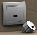 Изображение DP-10A (Дипер), Сетевое зарядное устройство USB, 5В, 1А