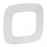 """Изображение Valena ALLURE.Рамка """"Белая"""".1-постовая универсальная"""