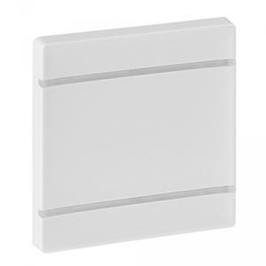 Изображение Valena LIFE MyHome.Лицевая панель для механизмов BUS/SCS.Без маркировки.2 модуля.Белая