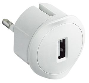 Изображение USB д/зарядки 1.5А бел Legrand