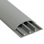 Изображение Кабель-канал напольный 70x16 серый ЭЛЕКОР (CKK30-070-016-3-K03) IEK