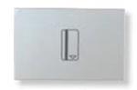 Изображение ABB NIE Zenit Серебро Выключатель карточный 2 мод