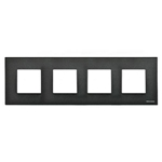 Изображение ABB NIE Zenit Антрацит Рамка 4-я 2+2+2+2 мод