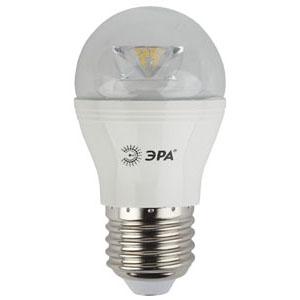 Изображение Лампа светодиодная smd P45-7w-842-E27-Clear ЭРА