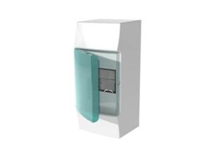 Изображение ABB Mistral41 Бокс настенный 4М зеленая дверь (без клемм)