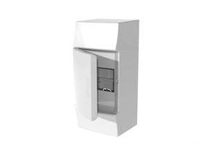 Изображение ABB Mistral41 Бокс настенный 4М непрозрачная дверь (без клемм)