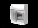 Изображение ABB Mistral41 Бокс настенный 8М прозрачная дверь (с клемм)