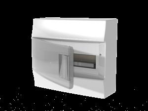 Изображение ABB Mistral41 Бокс настенный 12М прозрачная дверь (с клемм)