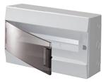 Изображение ABB Mistral41 Бокс настенный 18М прозрачная дверь (с клемм)