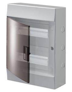 Изображение ABB Mistral41 Бокс настенный 24М прозрачная дверь (с клемм)