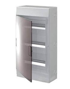 Изображение ABB Mistral41 Бокс настенный 36М прозрачная дверь (с клемм) 3 ряда