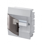 Изображение ABB Mistral41 Бокс в нишу 8М прозрачная дверь (c клемм)