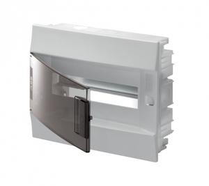 Изображение ABB Mistral41 Бокс в нишу 12М прозрачная дверь (c клемм)