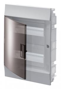 Изображение ABB Mistral41 Бокс в нишу 24М прозрачная дверь (c клемм)