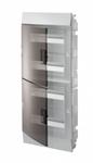 Изображение ABB Mistral41 Бокс в нишу 48М прозрачная дверь (c клемм)