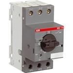 Изображение MS116-0.63 50kA Автоматический выключатель с регулир. тепловой защитой 0.4А-0.63А 50kA ABB
