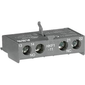 Изображение HKF1-11 Блок-контакт фронтальный 1НО+1НЗ для MS116 ABB
