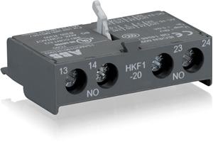 Изображение HKF1-20 Контакты фронтал доп. 2НО для автоматов типа MS116, MS132, MS132-T, MO132, MS165 ABB