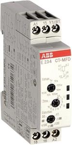 Изображение ABB CT-MFD Реле времени универсальное 24-48V DC, 24-240V AC 7