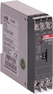 Изображение ABB CT-ERE Реле времени задержка на вкл 0,1-10 сек 24V AC/DC, 220-240V AC, 1ПК